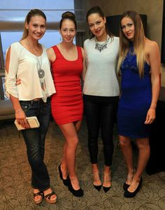 Via Fed Cup  · 4/18/14   #TeamSerbia  With Jovana Jakšić, Nina Stojanovic, Ana Ivanovic and Bojana Jovanovski in Bucharest, Romania.