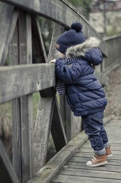 (Kid fashion: baby boy style. Mode enfant bebe garcon) But I love the curiosity and wonder of childhood...