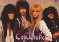 cinderella band - Google Search
