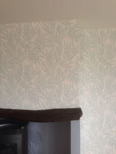 Osbourne wallpapers with Farrrow & Ball colours, rosewood stain to lintel