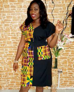 Elegant Ankara Style for this Festive Season - Fashion Ruk Short African Dresses, African Blouses, African Fashion Designers, Latest African Fashion Dresses, African Print Dresses, African Print Fashion, Africa Fashion, Moda Afro, African Traditional Dresses