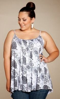 Plus size clothing for full figured women. We carry young and trendy, figure flattering clothes for plus size fashion forward women. Curvalicious Clothes has the latest styles in plus sizes Looks Plus Size, Plus Size Tops, Plus Size Women, Curvy Girl Fashion, Plus Size Fashion, Dance Outfits, Cute Outfits, Indian Clothes Online, India Fashion
