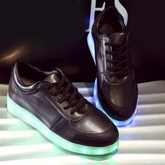 buy online f2441 150a7  30.97 Fashionable Tie Up and Lights Up Led Luminous Design Athletic Shoes  For Women