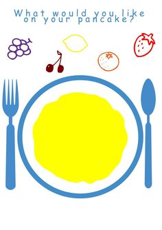 PANCAKE GAMES want some pancake fun for kids on Shrove Tuesday? We've got songs to sing, games to play and a lovely 'Pancake Toppings' free printable. Pancake Party, Pancake Toppings, Printable Activities For Kids, Printable Crafts, Free Printables, Pancake Day Crafts, Shrove Tuesday Activities, Pajama Day, School