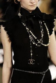 #Pearls #Chanel
