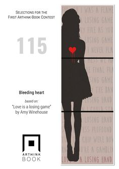 "#VinylArthink contest  entry 115    ""Bleeding heart""    based on: ""Love is a losing game""   by Amy Winehouse    https://youtu.be/nMO5Ko_77Hk    #arthinkeditions #arthink #contest #entry #art #illustration #arthinkbook #bleending #heart #Loveisalosinggame #amywinehouse #woman #red"