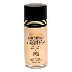 Revlon ColorStay Oil Free Makeup SPF 6, Ivory - 1.25 fl oz. Original Formula - Rare and Hard to Find Product. Packaging style may vary. Limited Quantity available.