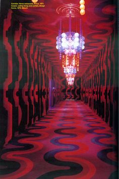 corridor, Varna restaurant, 1971