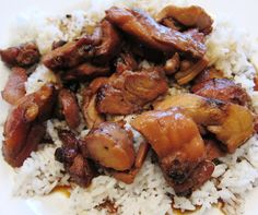 Chicken Teryaki Recipe - super easy and delicious! #chicken #dinner #yummy