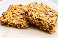 Almond Butter Banana Granola Bars