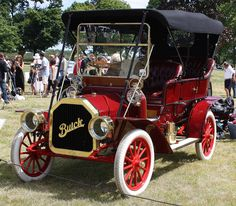 1908 Buick Model F touring - Daryl Killian - automobil American Classic Cars, Old Classic Cars, Chevrolet Corvette, Vintage Cars, Antique Cars, Automobile, Buick Models, Buick Cars, Veteran Car