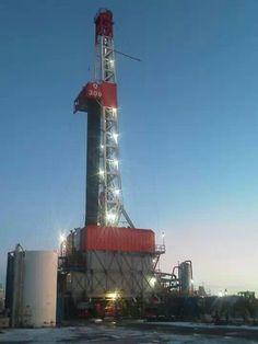 Petroleum Engineering, Oil Field, Rigs, Metal