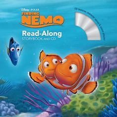 Finding Nemo Read-Along Storybook and CD by Tino Insana, http://www.amazon.com/dp/1423160282/ref=cm_sw_r_pi_dp_kUtnrb0T1YMX1