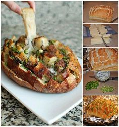 kenyérfalatkák a sütőből