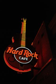 Hard Rock Cafe ~ Gatlinburg, Tennessee