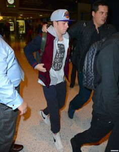 Niall at the airport last night