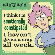 emotional constipation