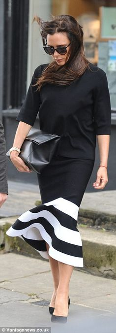 Victoria Beckham - In Notting Hill, London. (10 May 2015)