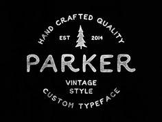 Parker (Free Font) on Behance