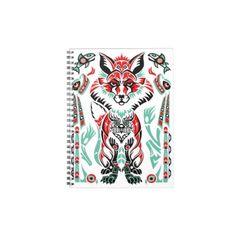 Pacific North Coastal Native American Indian Fox Journals