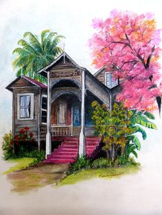 'This Old House' ~ Karin Best