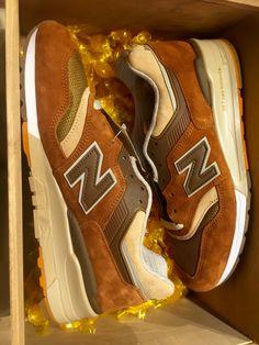 """New Balance x J.Crew - 997 Made in USA """"Butterscotch"""""""