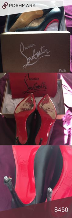 Christian Loboutin Pigalle 100% Authentic Pigalle Follies 100 KID. Pre-owned. Purchased at Saks. No trades! Christian Louboutin Shoes Heels