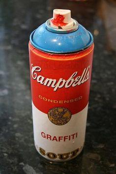 campbell' soup graffiti
