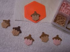 madebyjoey: Mini acorns & perler bead storage