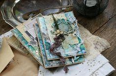 Handmade by Smilla: Винтажные открытки и мк по фонам. А также анонс МК в СПб.