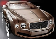 2015-01-28 | Bentley Continental Sketch of the day by cardesign.ru