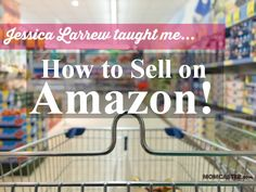 How I learned to sell on Amazon, why I wanted to learn, and how you can learn, too. It makes me happy every single day. I LOVE it.