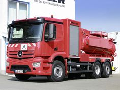 e048a0f5fc MB ACTROS cleaner sewers truck · Mercedes Benz ...