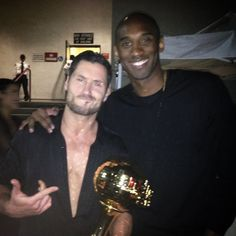 KOBE!!! my man came thru last night to support #TeamValenRue and get some tips on footwork ;) ... So blessed so honored. #alpha #beastmode #dwts @kobebryant