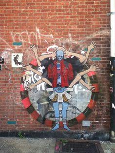 A wall in Brooklyn, New York
