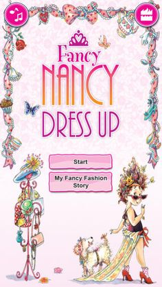 Fancy Nancy app