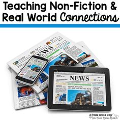This resource could provide our teachers with information on using non-fiction texts to help students make real world connections. Resources could be pulled on some of our local business partners and related to the mastering of non-fiction skills. High School Reading, High School Classroom, Science Classroom, Ib Classroom, Classroom Ideas, Classroom Inspiration, Google Classroom, Future Classroom, Text To Self Connection