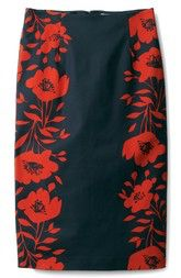 BODEN Boden Richmond Print Skirt available at #Nordstrom