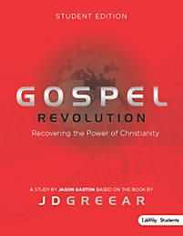Gospel Revolution - Student Member Book | Gaston, Jason | LifeWay Christian