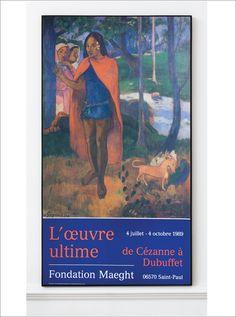 Paul Gauguin - Original Artist Poster 1989 – Art & Vintage Store Ltd Vintage Prints, Vintage Posters, Exhibition Poster, Paul Gauguin, Saint, Les Oeuvres, Fine Art Prints, Poster Prints, Museum