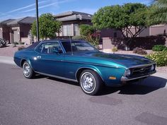 My first car, a '72 Ford Mustang Grande. Not a good looking car, but fast as all hell.