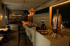 Liebhart Restauration Restaurant, Conference Room, Table, Furniture, Home Decor, Restoration, Landing Pages, Decoration Home, Room Decor