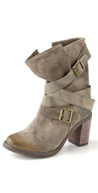 Balmain Lace Up Suede High Heel Boots | SHOPBOP