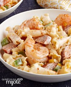 Here's an awesome entrée for two that doesn't skimp on flavour. Our Cajun-Shrimp Pasta for Two is sure to become a weeknight favourite! Pasta Nutrition, Coconut Milk Nutrition, Broccoli Nutrition, Cheese Nutrition, Cooking App, Cajun Cooking, Cooking For Two, South Indian Breakfast Recipes, Indian Food Recipes