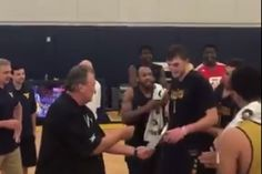 West Virginia basketball surprised a walk-on with a scholarship