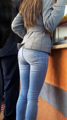 Sexy girl in jeans