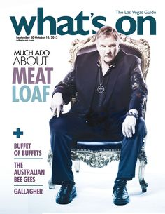 Meat Loaf on our Sept. 30- Oct. 13