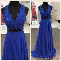 2 piece Prom Dresses,2 Piece Prom Gown,Two Piece Prom Dresses,Prom Dresses,New Style Prom Gown,2018 Prom Dress,Prom Gowns PD20182343