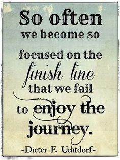 ~ Joy in the journey!