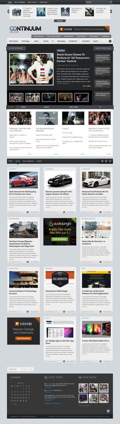 Continuum - Magazine Wordpress Theme • Download ➝…